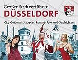 Stadtverführer / Großer Stadtverführer Düsseldorf: Rommé-Spiel als City-Guide mit Stadtplan und Geschichten - Lutz Müller