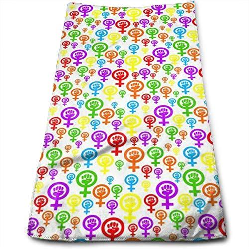 Toalla feminista Rainbow Soft