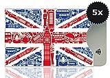OPTEXX 5x RFID Schutzhülle TÜV geprüft & zertifiziert Britisch für Kreditkarte  EC-Karte  RFID...