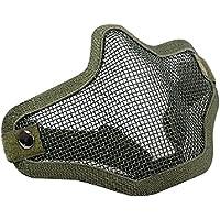 26754630a92cb9 masque de protection - SODIAL(R) exterieure Airsoft CS masque de protection (Vert