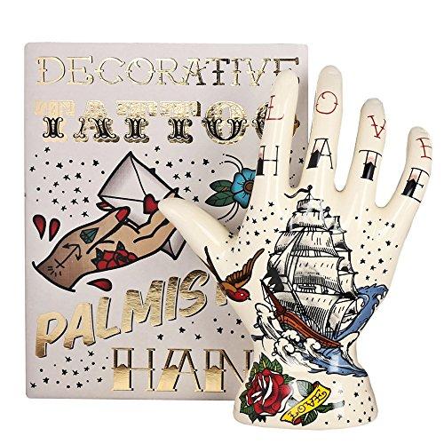 Temerity Jones Tattoo-Palme, Palme, Fortune, Telling, Hand, Boho, Gymnastik, Hochzeit, Geschenk