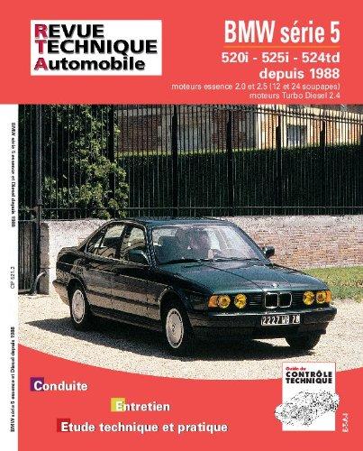 Revue Technique 521.2 Bmw Serie 5 E&d (88/91)& Td