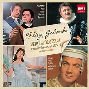 Flieg,Gedanke (Verdi auf Deutsch)