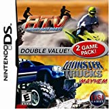 ATV Thunder ridge Riders and Monster Trucks mayhem 2 in 1 - Nintendo DS - US
