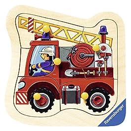 Ravensburger Puzzle 5 Pezzi Fuoco di Legno del Motore di Puzzle 03.227