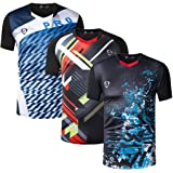 jeansian Men's Sport Quick Dry Short Sleeves Compression T-Shirt Tee LSL182
