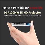 Mini Projector - Souqgreen Portable LED Projector Smart DLP Mini Projector Android WiFi Bluetooth 1080P Home Theater HDMI fo