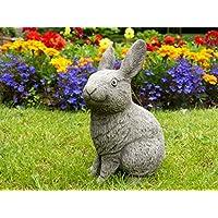 Thumper il coniglio da giardino/Scultura/Statua in pietra fatto a (Easter Bunny Ornamento)