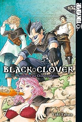 Black Clover 07: Konferenz der Ordensanführer (Black & Decker Router)