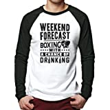 Weekend Forecast - Boxing with a Chance of Drinking - Men Baseball Top