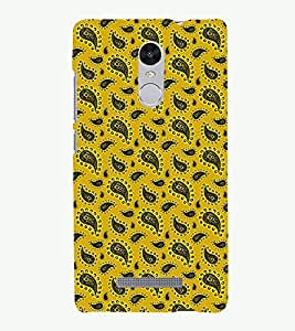 PRINTSHOPPII PATTERN Back Case Cover for Xiaomi Redmi Note 3