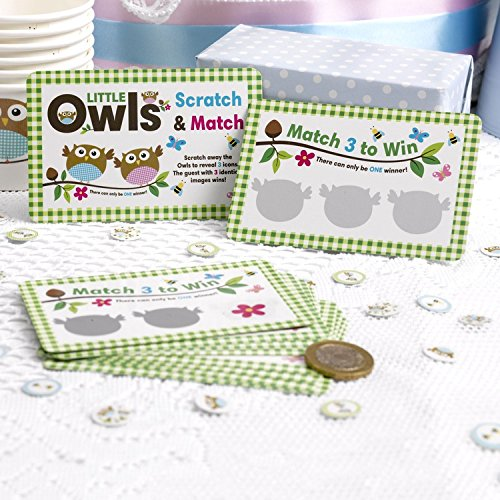 Neviti Little Owls Rubbelspiel