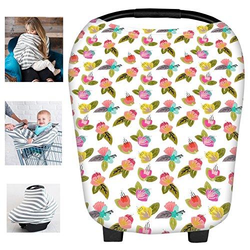 Multi Lait Fibe Kit voiture bébé Cover ciel Panier d'allaitement Swaddle Couverture pour nourrissons nouveau-né bébé douche cadeau