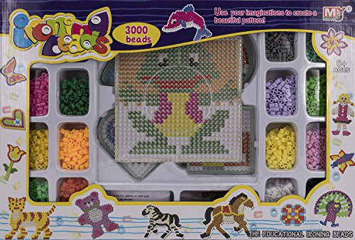 Toys Outlet - Ironing Beads 5406314524. Set de 3000 Cuentas.