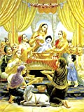 Faim Paintings Canvas Print Of Religious Art Bal Gopal Snan - Frameless, 18x24 Inch best price on Amazon @ Rs. 599