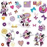 Minnie Mouse - Pegatinas para pared y cristal (RMK1666SCS)