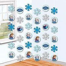 Disney Eiskönigin Frozen - Fiesta Decodificación De Pendientes Decoración De La Habitación 6 Piezas