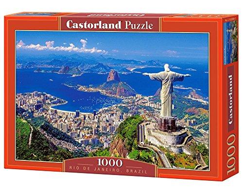 Preisvergleich Produktbild Castorland C-102846-2 - Rio De Janerio, Brazil, 1000-teilig, Klassische Puzzle