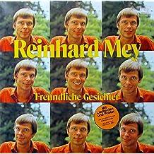 """MEY, REINHARD / Freundliche Gesichter / 1981 / Klapp-Bildhülle mit ORIGINAL Text-Innenhülle und Poster / Intercord # INT 160.168 / Deutsche Pressung / 12"""" Vinyl Langspiel Schallplatte /"""