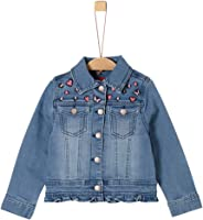 s.Oliver RED Label Junior Mädchen Jeansjacke mit Embroidery