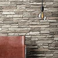 Steintapete Vlies Grau Edel | Schöne Edle Tapete Im Steinmauer Design |  Moderne 3D Optik Für