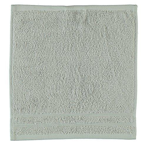 Kleine Wolke 3003104202 Seiflappen Royal, 30 x 30 cm, silbergrau (Frottier-badelaken)