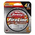 Berkley Fireline Ultra 8 Carrier Super Strong Braid Fishing Line - 300m (Smoke, 18lb) from Berkley