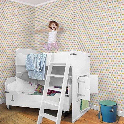 Vliestapete–nicht. yk61Punkte Pastell–Wandbild breit Tapete Wand Wandbild Foto Funktion 3D Tapete wall-art Tapete Wandmalereien Schlafzimmer Wohnzimmer Dimension H: 255cm x 384cm