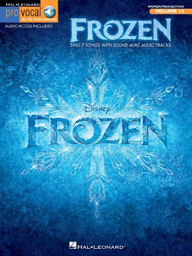 Frozen - Pro Vocal Songbook (with Audio): Mixed Edition Volume 12 (English Edition) -