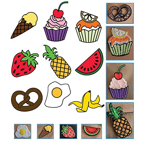 20 Stücke 3D Drucker Zeichnung Papier, Zeichnung Vorlage Papier Formen für 3D Druck Stift mit 40 Cartoon Muster Kinder DIY Geschenk - 8