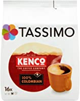 TASSIMO Kenco Colombian Coffee Capsules Pods Refills T-Discs Pack of 5, 80 Drink
