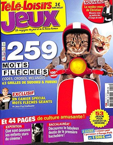 télé loisirs jeux - codés croisés sudoku&fubuki - mots fléchés géants par Jean-Paul Vuillaume