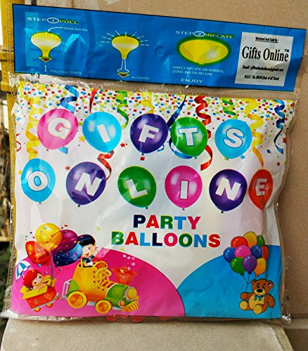 Gifts Online LED Balloons for Party Festival Celebrations (Set of 25)