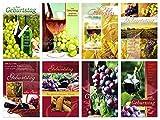 50 Geburtstagskarten Grußkarten Wein Glückwunschkarten Geburtstag Umschläge 510-3753