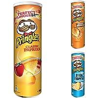 Pringles Party Mix   Stapel-Chips   3 Dosen mit 3 verschiedenen Sorten (3x200g)