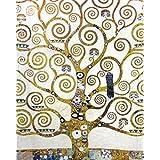 Gustav Klimt - El Árbol De La Vida (Detalle) Póster Impresión Artística (50 x 40cm)