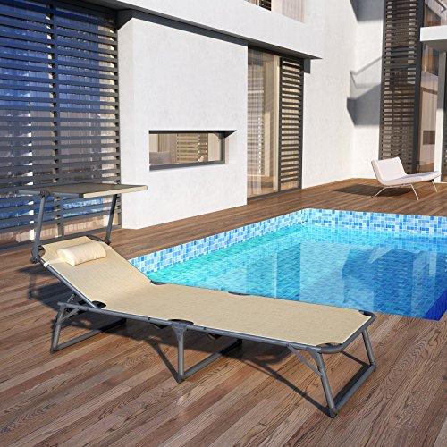 songmics-aluminium-sonnenliege-gartenliege-verstellbarer-klappbare-liegestuhl-mit-kopfkissen-und-sonnendach-belastbar-bis-250-kg-beige-193-x-67-x-32-cm-gcb19be-2