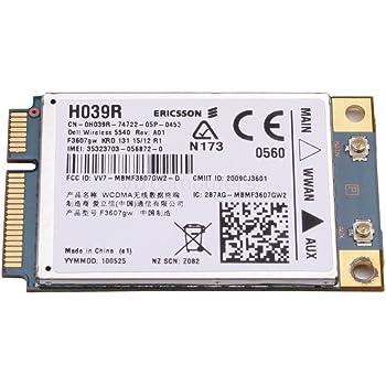 Dell Precision M4500 Notebook 5540 HSPA Mini Card Last