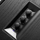 Edifier Studio R2730DB Bluetooth-Lautsprechersystem (136 Watt) mit Infrarot-Fernbedienung und Digitaleingängen Schwarz