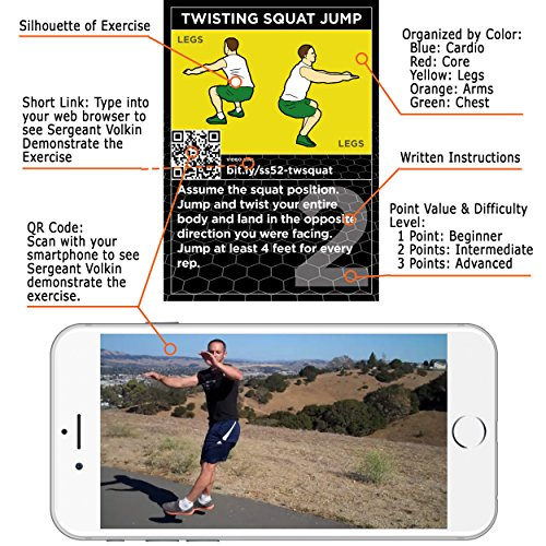 Stack-52-HIIT-Interval-Workout-Game-Designed-by-Military-Fitness-Expert-Video-Instructions-Included-Bodyweight-Exercises-No-Equipment-Needed-Fun-and-Motivating-Training-Program
