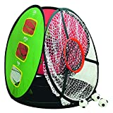 LONGRIDGE Golf Equipment 4 IN 1 Chipping NET, RED/White/Green/Black