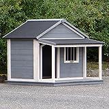 Animalhouseshop.de Hundehütte Wooff Large 130x118x108cm
