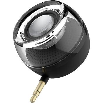 Mini Altoparlanti Portatili Clear Bass Line-in Rechargeable Speaker Con Porta Micro USB Per iPhone, iPad, iPod, Tablet, Lettore MP3, Computer Portatile, Telefono Cellulare (nero)