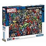 Clementoni 39411 Marvel Universe, 1000 stuks, Impossible Puzzel voor het hele gezin, kleurrijk legspel, puzzel voor volwassenen vanaf 14 jaar