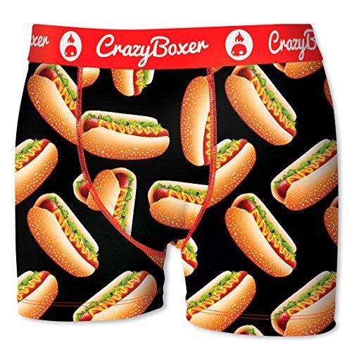 Crazy-boxer-shorts (Crazy Boxer Herren Boxershort/Retroshort