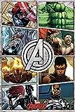 Empire Poster The Avengers cartoni animati Marvel accessori di fissaggio non di quadro
