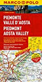 Italy - Piedmont, Aosta Valley Marco Map (Marco Polo Maps (Multilingual))