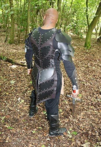 dieval Viking Warlord Armour Roman Warrior Armor LARP SCA Halloween ()