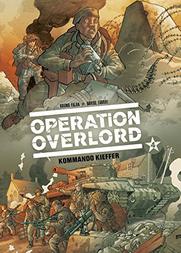 Operation Overlord, Band 4 - Kommando Kieffer (Kommando-operationen)