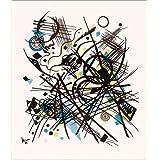 Impresión en metacrilato 50 x 60 cm: Composition de Wassily Kandinsky